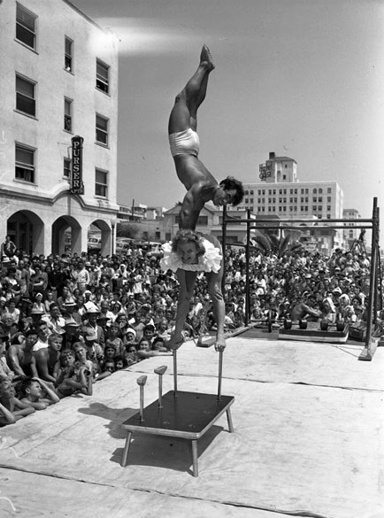 Muscle Beach Then And Now Tour De Core Personal Training