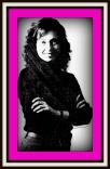 Irene Picassa Portrait Pink Border