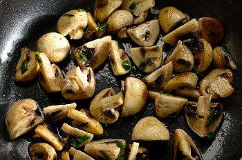 Mushroom stir fry corbis