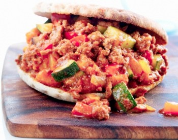 Sloppy Joe With Zucchini & Carrots