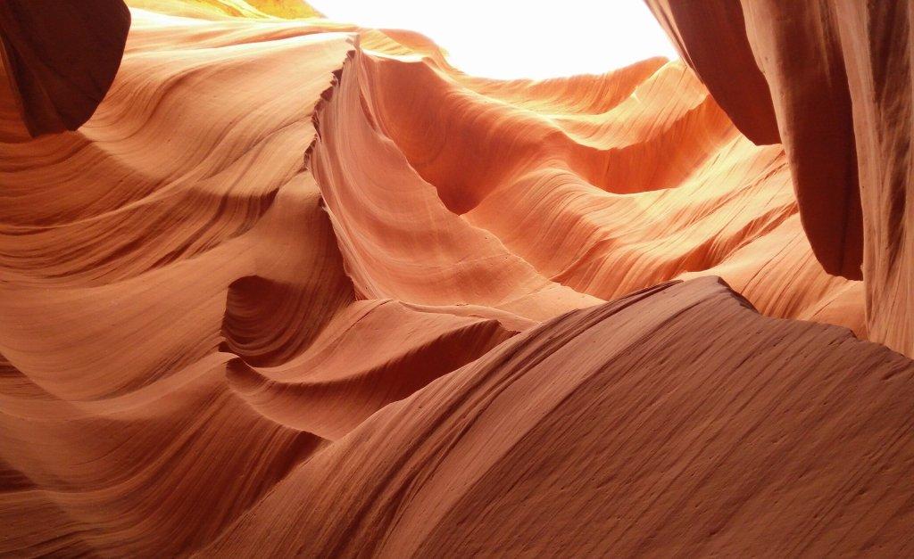 Slot canyon in Utah